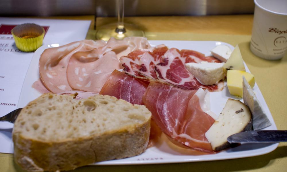 prosciutto and cheese maremma tuscany