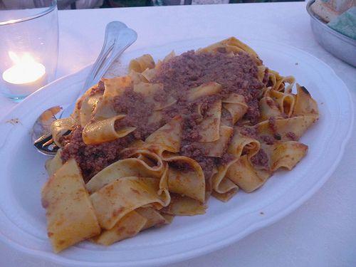 wild boar pasta_maremma_tuscany