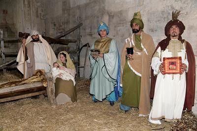Maremma Tuscany Porto Ercole Living Nativity