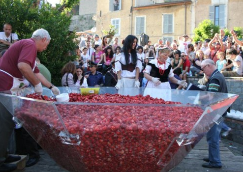 Festa Delle Fragole Marsiliana Maremma Tuscany