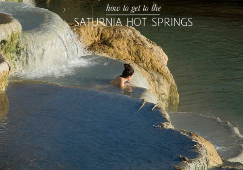 Quick Travel Tip: How To Get To The Saturnia Hot Springs!
