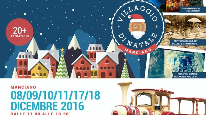 Feeling Festive At Manciano's Christmas Village